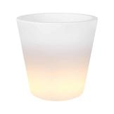 Elho 3346304510004 Pflanztopf Pure Straight LED Light Durchmesser 45 x 63 cm - 1