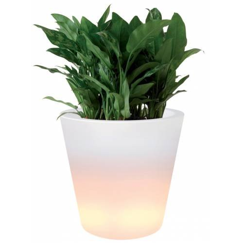 Elho 3348005810004 Pflanztopf Pure Straight LED Light Durchmesser 60 x 80 cm - 2