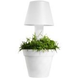 ELHO Pure Twilight Blumentopf mit LED Lampe