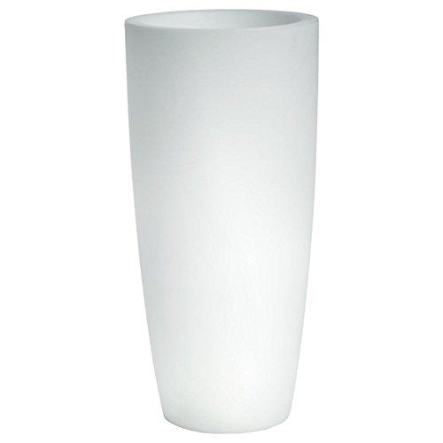 hydroflora 63005010 Nicoli LED-Leuchttopf Talos Light, Durchmesser 33 cm, Höhe 70 cm, mehrfarbig mit 13 Farben und 4 Programmen zur Farbtherapie - 1