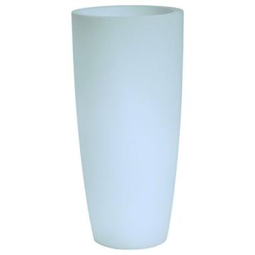 hydroflora 63005010 Nicoli LED-Leuchttopf Talos Light, Durchmesser 33 cm, Höhe 70 cm, mehrfarbig mit 13 Farben und 4 Programmen zur Farbtherapie - 2