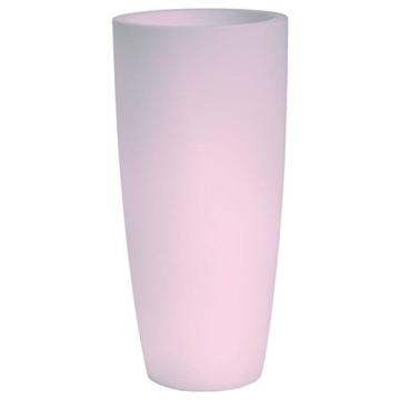 hydroflora 63005010 Nicoli LED-Leuchttopf Talos Light, Durchmesser 33 cm, Höhe 70 cm, mehrfarbig mit 13 Farben und 4 Programmen zur Farbtherapie - 3