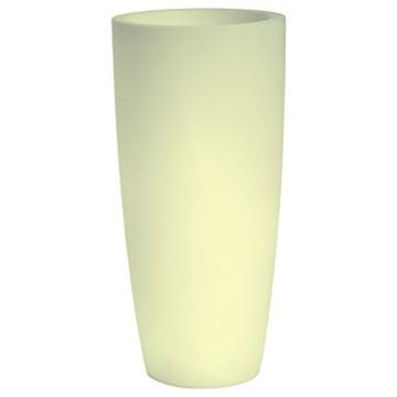 hydroflora 63005010 Nicoli LED-Leuchttopf Talos Light, Durchmesser 33 cm, Höhe 70 cm, mehrfarbig mit 13 Farben und 4 Programmen zur Farbtherapie - 4