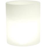 hydroflora 63005205 Nicoli LED-Leuchttopf Echo Light, Durchmesser 35 cm, Höhe 42 cm, warmweiß - 1