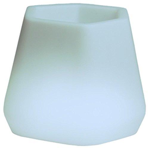 hydroflora 63005310 Nicoli LED-Leuchttopf OPS Small Light, 40 x 35 x 27 cm, mehrfarbig mit 13 Farben und 4 Programmen zur Farbtherapie - 2