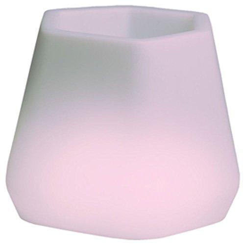 hydroflora 63005310 Nicoli LED-Leuchttopf OPS Small Light, 40 x 35 x 27 cm, mehrfarbig mit 13 Farben und 4 Programmen zur Farbtherapie - 3