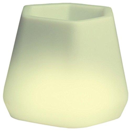 hydroflora 63005310 Nicoli LED-Leuchttopf OPS Small Light, 40 x 35 x 27 cm, mehrfarbig mit 13 Farben und 4 Programmen zur Farbtherapie - 4