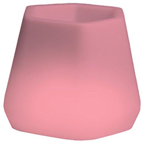 hydroflora 63005310 Nicoli LED-Leuchttopf OPS Small Light, 40 x 35 x 27 cm, mehrfarbig mit 13 Farben und 4 Programmen zur Farbtherapie - 5