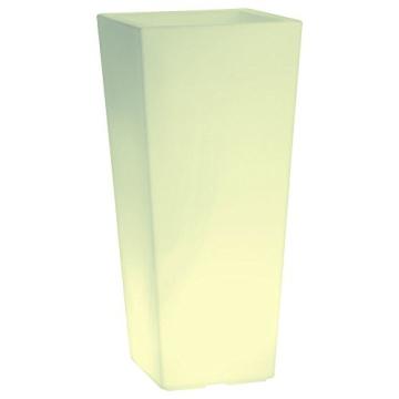 hydroflora 63005510 Nicoli LED-Leuchttopf Eros Light, 30 x 30 x 60 cm, mehrfarbig mit 13 Farben und 4 Programmen zur Farbtherapie - 6