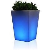 CONO PLAZA LUZ 44 Blumenkübel LED RGB beleuchtet