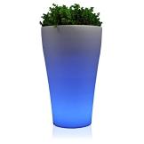 LED-Blumenkübel FLORA LUZ 80 , RGB beleuchtet