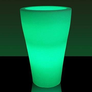LED-Blumenkübel FLORA LUZ 80 , RGB beleuchtet farbwechsel