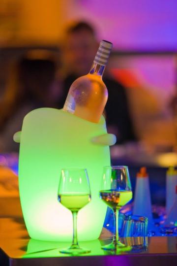 Flaschenkühler Fresh beleuchtet mit Akku