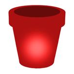 Leuchttopf - beleuchtete Pflanzkübel für Garten, Wohnzimmer und Geschäft
