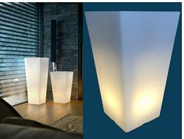 Beleuchteter Pflanztopf XL