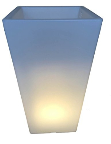 Beleuchteter Pflanztopf