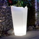 Design Pflanztopf Tulpe beleuchtet groß