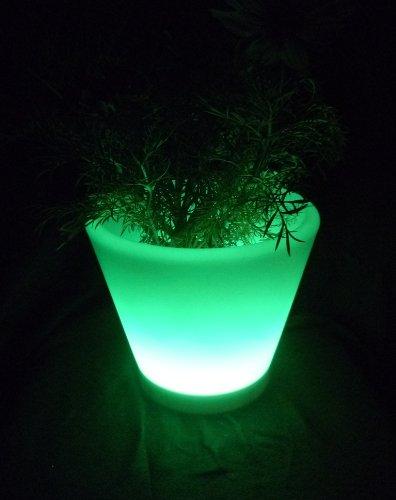 led blumentopf beleuchtet farbwechsel