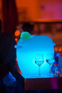 Gastro Flaschenkühler So Fresh mit LED-Beleuchtung Farbwechsel