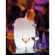 Leucht-Flaschenkühler LED mehrfarbig beleuchtet