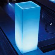 Licht-Pflanzgefäß Mambo LED bunt