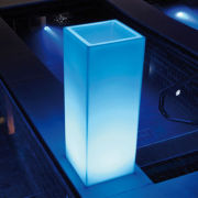 Mambo Planztopf mit LED-Beleuchtung
