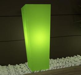 Moro beleuchteter Pflanztopf grün licht