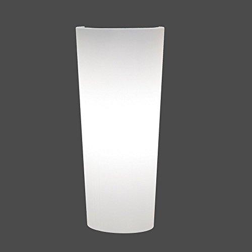 leuchtvase pflanztopf beleuchtet schion cono