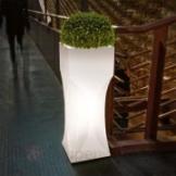 Dekorationsleuchte Venezia Light TerraForm Blumenvase Pflanzkübel