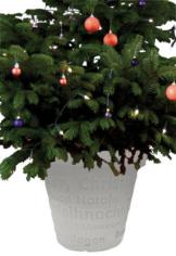 weihnachtsbaumständer beleuchtet weiss bloom