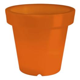 Leuchtender Pflanzkübel Bloom Orange 90