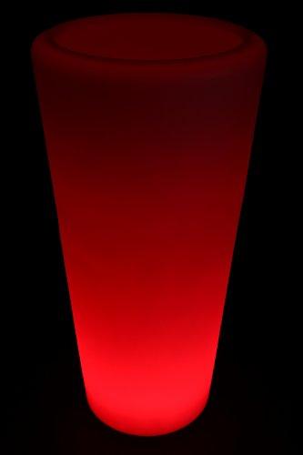 Beleuchteter Blumentopf Pflanzkübel LED Farbwechsel