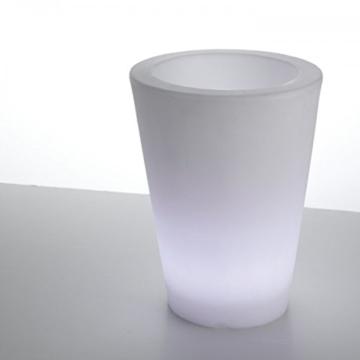 Beleuchteter Blumentopf ➡ LED Pflanztopf Ø 41cm beleuchtet mit ...