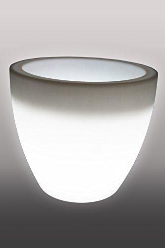 beleuchteter blumentopf designer leuchte blumentopf h he 43 cm finden auf leuchttopf. Black Bedroom Furniture Sets. Home Design Ideas