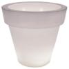 Vas One Light leuchtender Blumentopf - Serralunga - Weiß