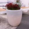 LED-Pflanztopf Shining Curvy Pot 39 cm